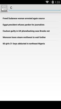 NewsBurner apk screenshot