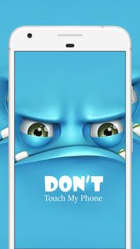 Don't Touch My Phone Privacy-Anti Theft Alarm-2018 poster