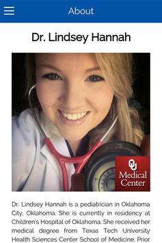 Dr Lindsey Hannah poster