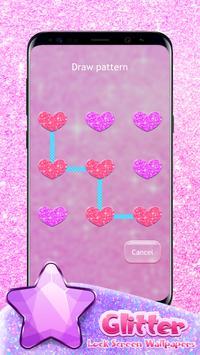 Glitter Lock Screen Wallpapers apk screenshot