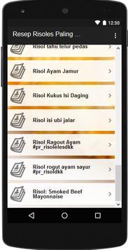 Resep Risoles Gurih dan Lembut screenshot 3