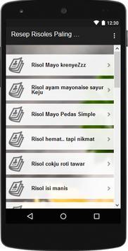 Resep Risoles Gurih dan Lembut screenshot 1