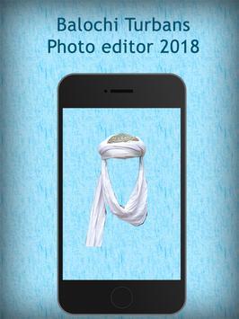 Balochi Turbans Photo editor 2018 screenshot 4