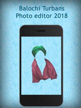 Balochi Turbans Photo editor 2018 screenshot 2