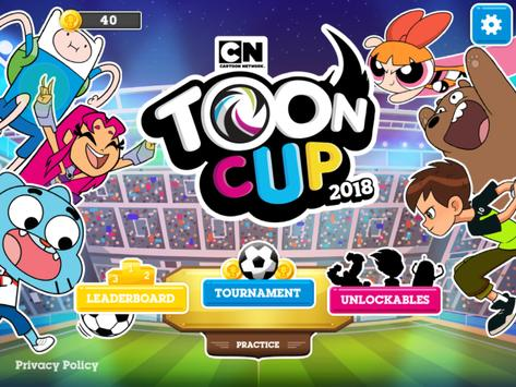 Toon Cup 2018 poster