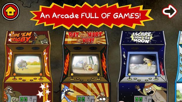 Just A Regular Arcade-poster