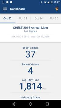 Exhibitor App - CHEST 2016 apk screenshot