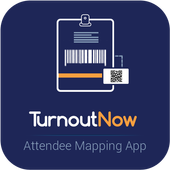Attendee Mapping App - TurnoutNow icon