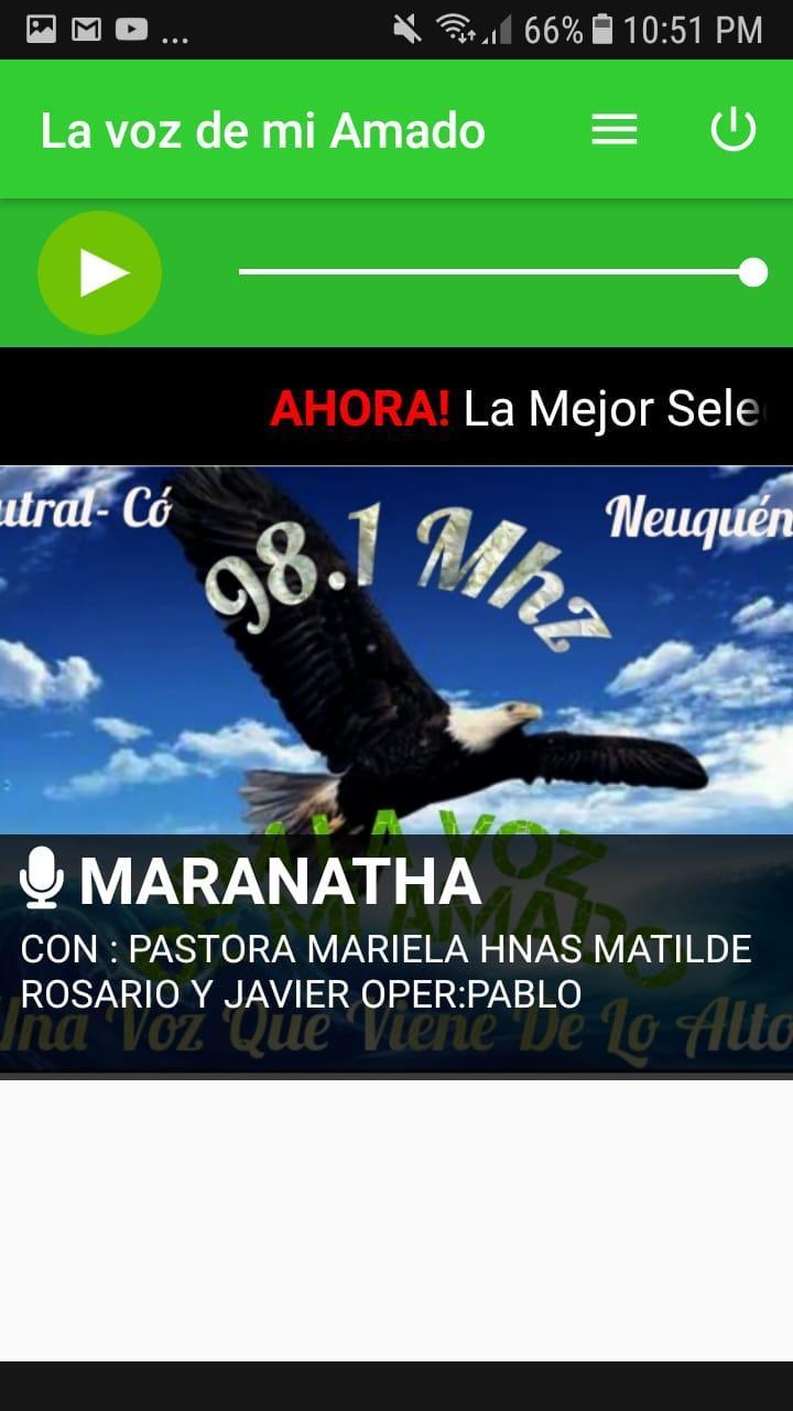 Radio La Voz De Mi Amado 98 1 For Android Apk Download