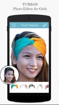 Turban Headband Photo Editor apk screenshot