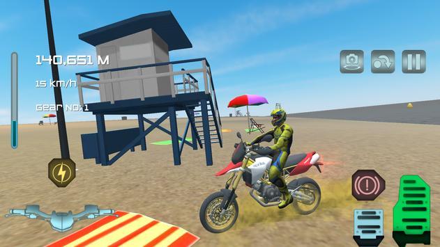 Turbo Motorbike Simulator poster