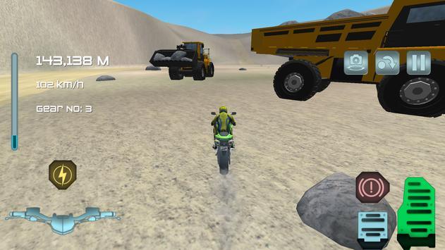 Turbo Motorbike Simulator screenshot 8