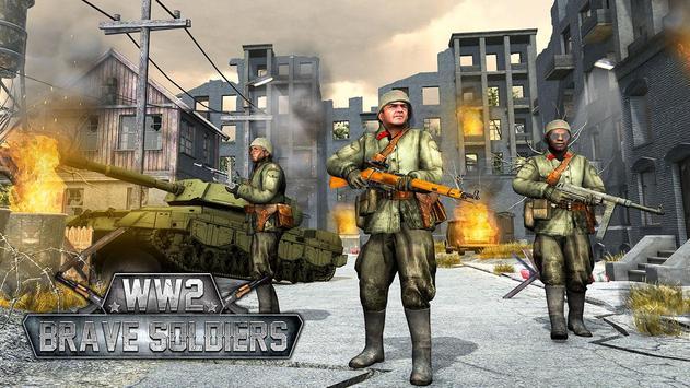 WW2 US Army Counter Attack Last Day Battlegrounds screenshot 8
