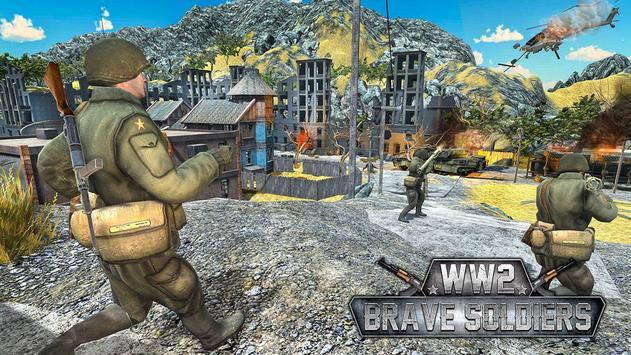 WW2 US Army Counter Attack Last Day Battlegrounds screenshot 15