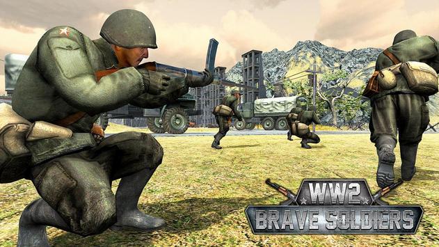 WW2 US Army Counter Attack Last Day Battlegrounds screenshot 3