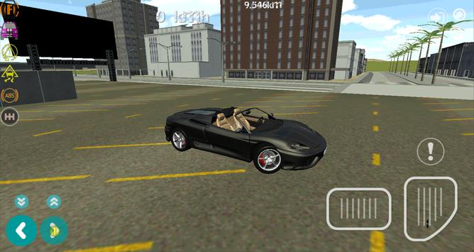 Turbo GT Luxury Car Simulator screenshot 1