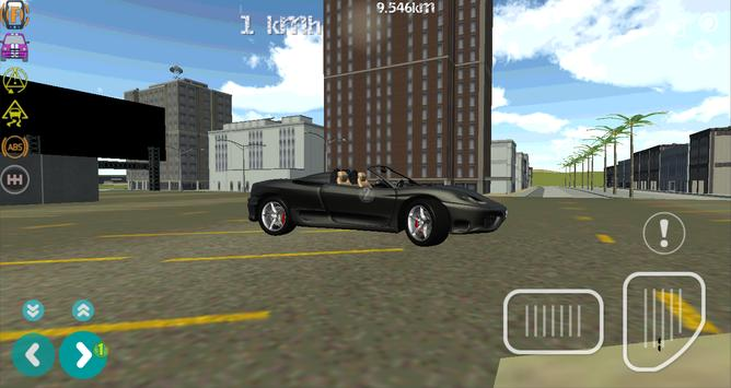 Turbo GT Luxury Car Simulator screenshot 2