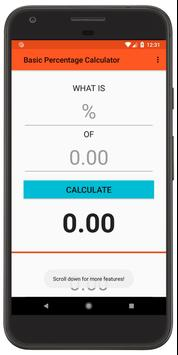 Basic Percentage Calculator for Android - APK Download