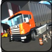 Cargo Truck Transportation 3D icon