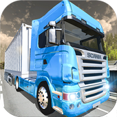 Offroad Cargo Truck Transport icon