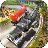 Off Road Oil Cargo Tanker 3d icon