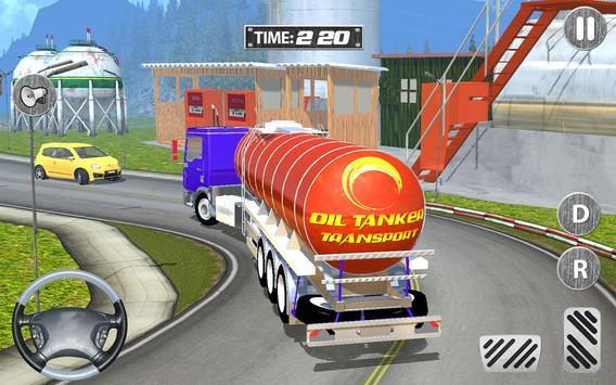Off Road Oil Cargo Tanker 3d poster