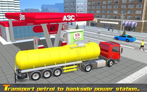 Off Road Oil Cargo Tanker 3d apk screenshot