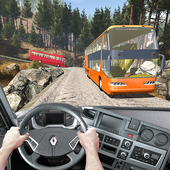 Tourist Bus Off Road Drive Sim icon