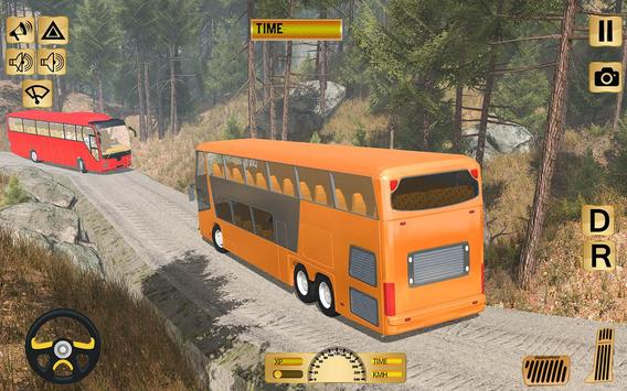 Tourist Bus Off Road Drive Sim poster