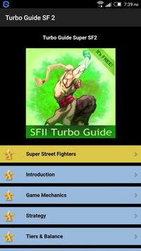 Turbo Guide Street Fighter plakat