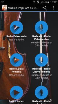 Muzica Populara cu Dedicatii poster