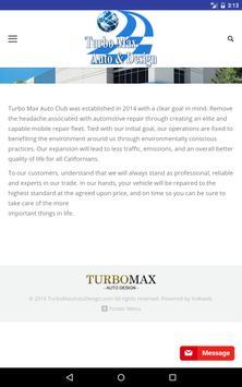 Turbo Max Auto Club screenshot 3