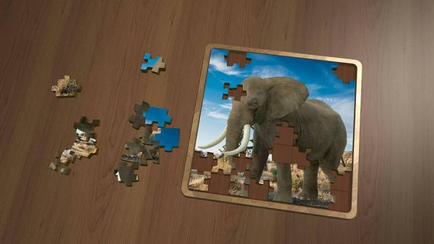Super Jigsaws - CG Animals apk screenshot