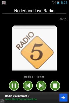 Netherlands Live Radio screenshot 1
