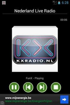 Netherlands Live Radio screenshot 3