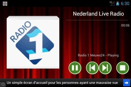 Netherlands Live Radio screenshot 6