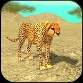 Wild Cheetah Sim icon