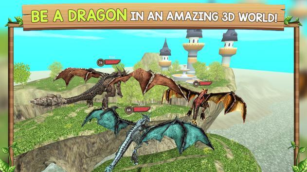 Dragon Sim Online: Be A Dragon poster