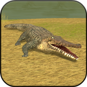 Wild Crocodile Simulator 3D icon