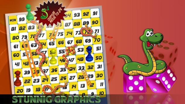 Snake Ladder Ludo Game Multiplayer poster