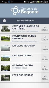 Turismo de Begonte apk screenshot