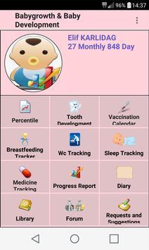 Baby Growth and Care Breastfeeding screenshot 2