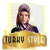 Turky style muslim icon