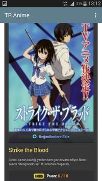 TR Anime apk screenshot