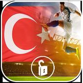 Futbol Türkiye Lockscreen icon
