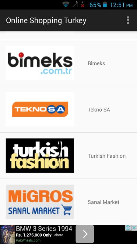 Online shopping from turkey to worldwide