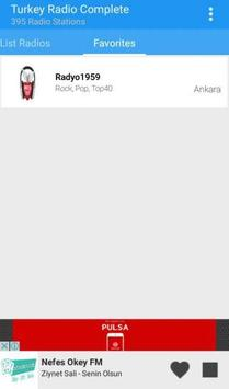 Turkey Radio Complete apk screenshot