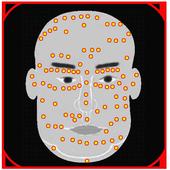 Bói nốt ruồi trên khuôn mặt icon