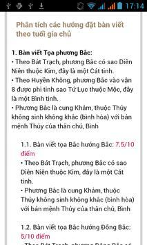 PHONG THỦY PHÒNG LÀM VIỆC screenshot 4