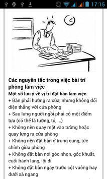 PHONG THỦY PHÒNG LÀM VIỆC screenshot 5
